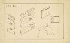 Stencil Faces in Le Corbusier Plans - Ville Radieuse