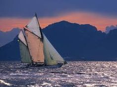 """Yacht 'Elide"""" off Cannes, France - Pixdaus Sand And Water, Open Water, Thing 1, Set Sail, Luxury Yachts, Tall Ships, Water Crafts, Plein Air, Sailing Ships"""