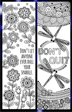 116 Best Bookmarks Coloring Pages For Adults Images In 2019 Marque