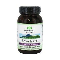 Organic India Bowel Care Formula (90 Veg Capsules)