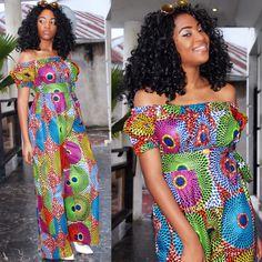 ~DKK~ Ankara Fashion , Kitenge , Ankara jumpsuit , African print , Ankara , Nigerian Wedding , Ghanéen Fashion , Congolese Fashion , African Fashion ,  MK Couture for Comme Les Kinois – Piece of CHIC …