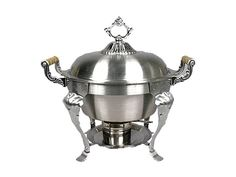 Chafer, Stainless 5qt Round   #WilliamsPartyRentals #WilliamsSJ #wedding #chafer #sanjose #bayarea #rentals #party