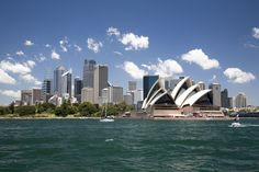 Greetings Card-Sydney Opera House in Sydney Harbor with downtown skyline, Sydney, New South Wales, Australia-Photo Greetings Card made in the USA Australia Photos, Australia Travel, Sydney Australia, Australia 2018, Australia Country, South Wales, Ontario, Sydney City, Cruise Destinations