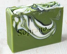 Green Apples Handmade Soap. All Natural Organic by SopranoLabs