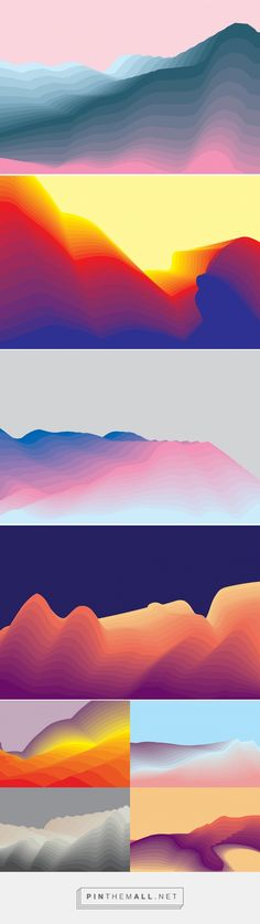Landscapes - Graphics - YouWorkForThem - created via https://pinthemall.net