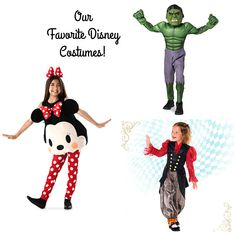 My kids made a list of a few of their top Disney costumes. With Mickey's Halloween Party almost here and Halloween just around the corner it is time to pi