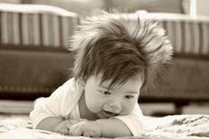 17 Babies Having A Bad Hair Day