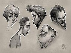 Sketches 2017, Isaac Jadraque on ArtStation at https://www.artstation.com/artwork/1YavK