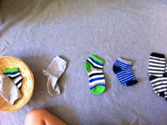 Five Minute Montessori Activity - Matching Socks