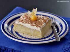 tres leche cake / kuchen mit 3-fach milch