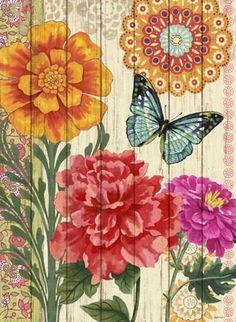 Bloom-Wood Bloom by Jennifer Brinley | Ruth Levison Design