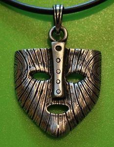 Loki Norse Symbols | ... Large Mask of Loki Viking Pewter Pendant Necklace - Thor Norse God