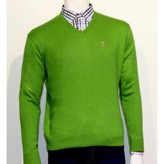 Jersey verde Talenti Jeans