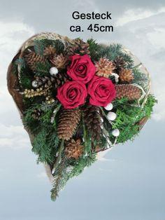 91 Grabgesteck Totensonntag Gesteck Allerheiligen von Blumen-Sprockhoff auf DaWanda.com