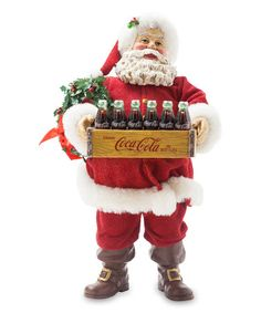 Coca Cola Santa Crate