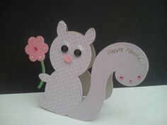 Squirrel collection by Kitty Cards