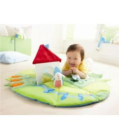 Play Rug Discoverers' Meadow with baby.