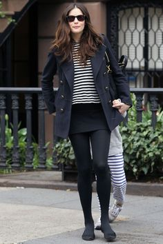 Liv Tyler on the street in New York - celebrity fashion (Glamour.com UK)