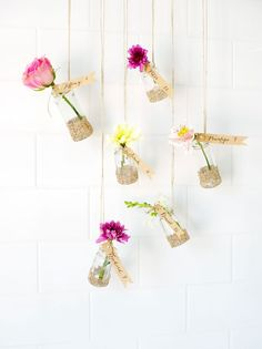 Hanging Garden Escort Cards tag