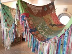 Boho Hochzeitsdekorationen, Look Boho, Bohemian Design, Boho Hippie, Bohemian Decor, Boho Chic, Hippie Chic Decor, Bohemian Crafts, Bohemian Fabric