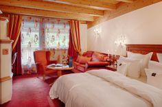 Junior Suite in the Hotel Alpenpalace