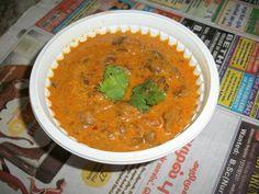Mushroom Kurma(Korma) / Mushroom Cooked in a Creamy Coconut Milk Sauce