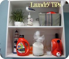 Laundry Tips and sports gear organization