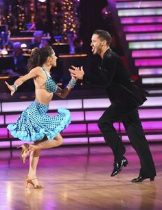 Dancing With The Stars | Photos | Week 10 Kelly and Val