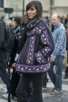 Paris Fashion Week Street Style Spring 2016 | POPSUGAR Fashion