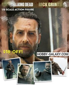 Pre-Order at Hobby-Galaxy.com!  #walkingdead #thewalkingdead #twd #rickgrimes #michonne #thewalkingdeadmorgan #thewalkingdeadabraham #thewalkingdeadseason5 #andrewlincoln #onesixthscale #actionfigure #actionfigures