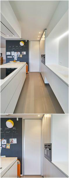 Moderne binnendeuren kamerhoog met een onzichtbare IBO-omlijsting