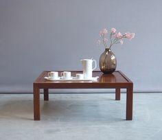 Jaren 60 salontafel palissander | vintage tafels | Vintage design meubelen