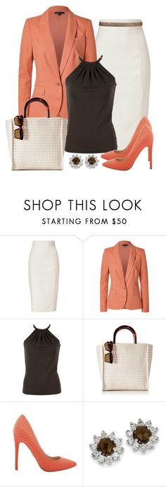 """Untitled #1441"" by gallant81 ❤ liked on Polyvore featuring L'Wren Scott, Rachel Zoe, Michael Kors, Mark & Graham and BillyTheTree"