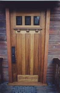 craftsman - love this door!