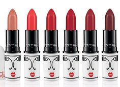 MAC Isabel and Ruben Toledo Collection for Spring 2015. gorgeous reds (even though I don't need any of them)