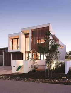 Elysium 154. BVN Architecture (Don't like the house, but the way of playing with materials)
