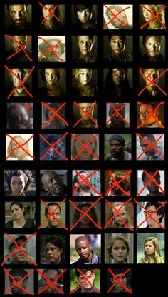 Survivors and deaths on TWD finally an updated one! As of midseason finale for season 4