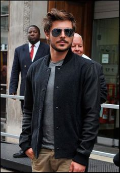gimme all of his jackets | street style by zac efron