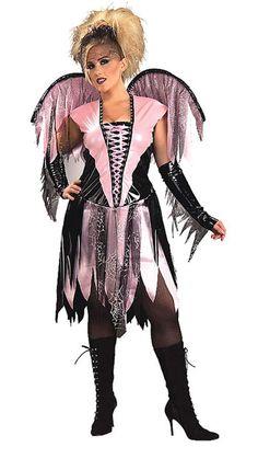 Spider Web Fairy Plus Costume