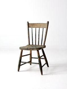 Antique Primitive Chair Furniture Primitive Kitchen Decor Antique Wooden Chairs
