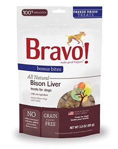 1Pack, 3.0 Oz, Bison Liver Bonus Bites for Dogs => Can't believe it's available, see it now : Dog food types