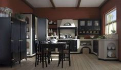 Le cucine in muratura  (Foto 40/40)   PourFemme