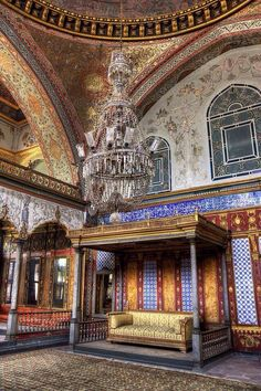 Topkapi Palace, Istanbul, Turkey - there in 99 Islamic Architecture, Beautiful Architecture, Art And Architecture, Architecture Details, Sainte Sophie, Empire Ottoman, Turkish Art, Hagia Sophia, Turkey Travel