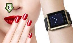 75% de réduc sur la montre SmartWatch compatible avec iPhone et Android #SmartWatch, #iPhone, #Android,