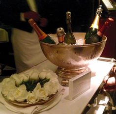 So many choices at Mr. Chow #mrchow #beverlyhills #champagne