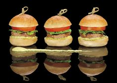 Sliders are a growing trend for wedding receptions at The Ritz-Carlton, Atlanta. Their size is perfect for offering an array of options for your guests' preferences.