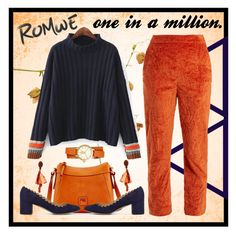 """one in a million."" by kaitwillis on Polyvore featuring Dooney & Bourke, Isa Arfen, Chloé, Oscar de la Renta and Tory Burch"