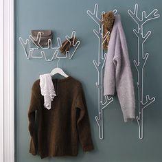 Branch Coat Rack - White | Maze Interior