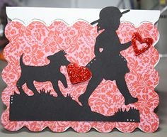 Creating with the Heart - A Child's Year Valentine.  Cute!
