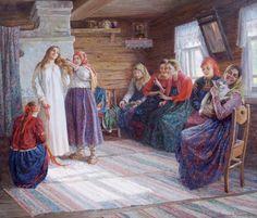 Peasant Wedding byNatalia Antokhina-Kuraksa